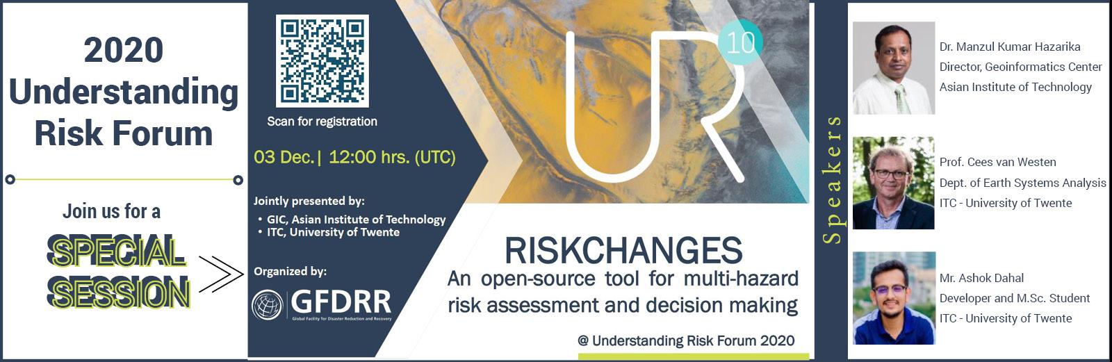 RiskChanges platform at the 2020 Understanding Risk Forum